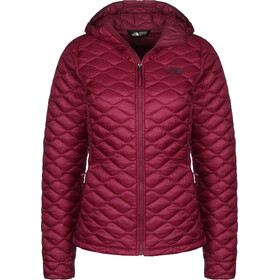 The North Face Thermoball Pro Kapuzenjacke Damen rumba red